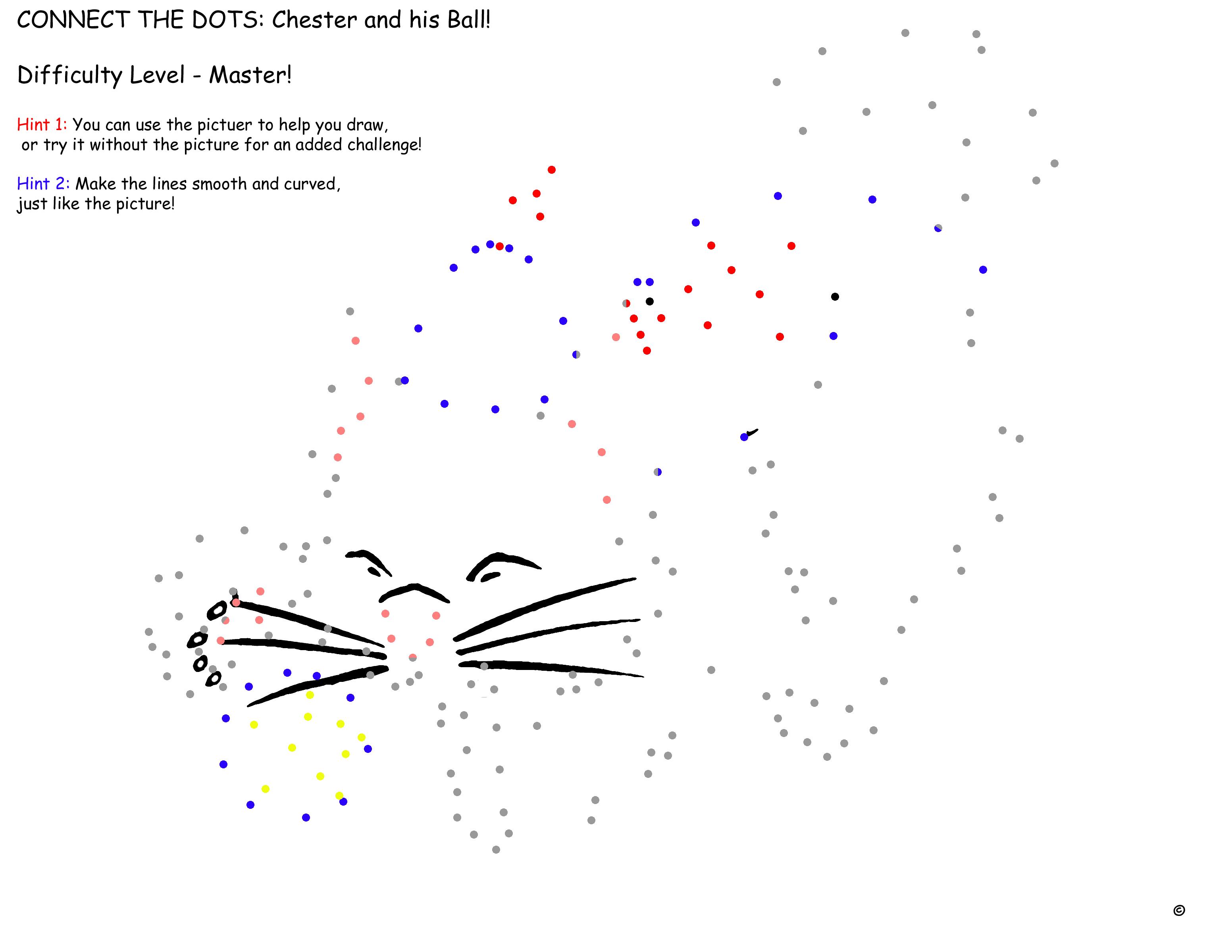 """Haz Click Aquí para Descargar la Pagina de """"Chester y su Pelota"""" Nivel de Dificultad 5"""