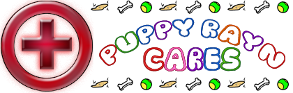 Puppy Rayn Cares Banner